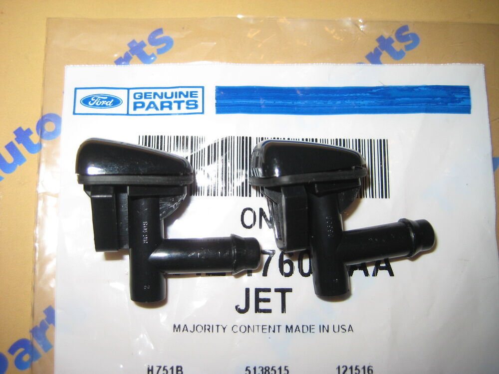 2 Lincoln Ls Windshield Washer Squirter Nozzle Spray Jets