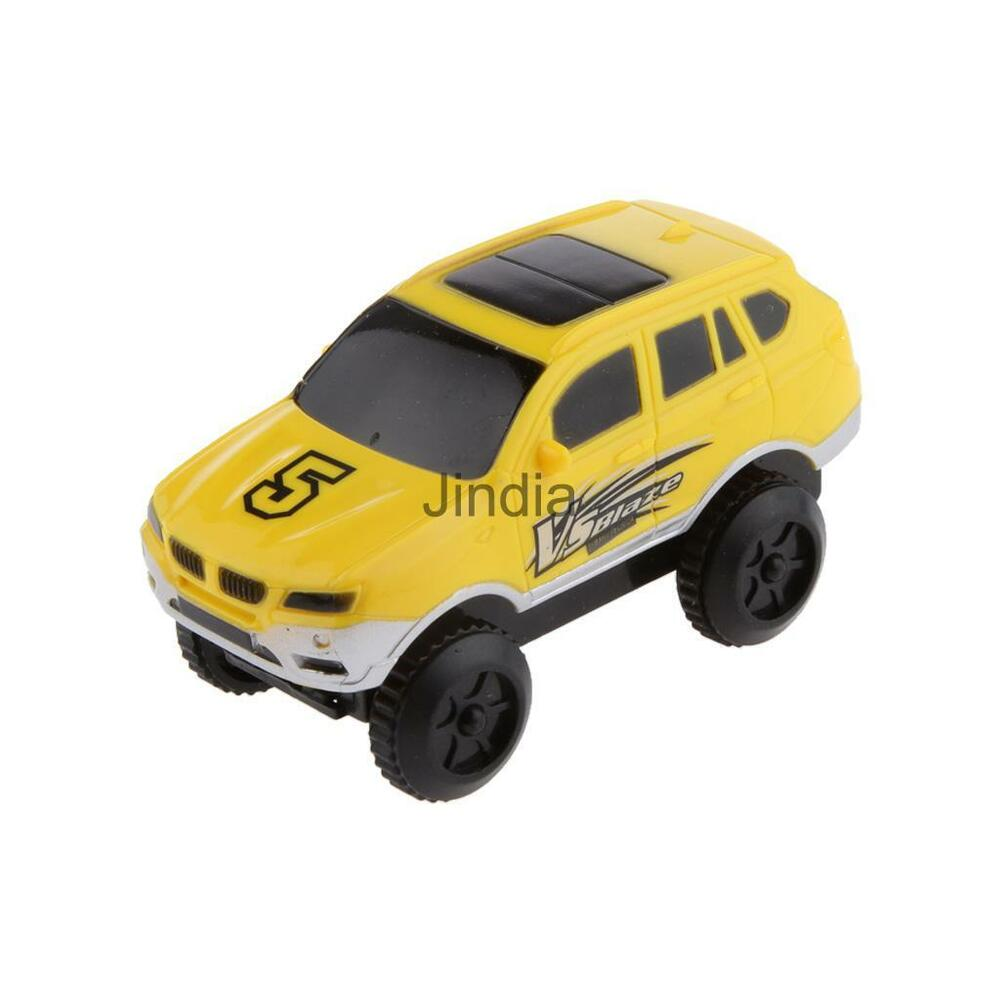 kids diy toy car mini electric car rail car toy vehicle kids toy gift yellow ebay. Black Bedroom Furniture Sets. Home Design Ideas