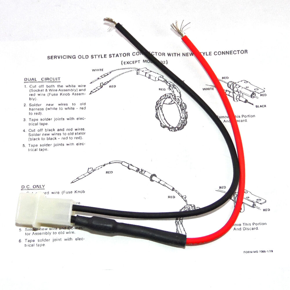 Alternator Stator Diode Wire Wiring Harness For Briggs And Trusted Oem 393456 Stratton Dual Circuit Assembly