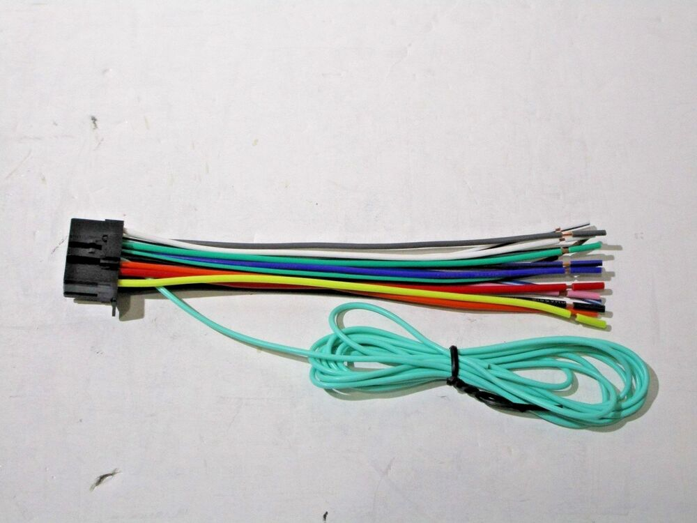 pioneer avh 4100nex wire harness new cr2 ebay