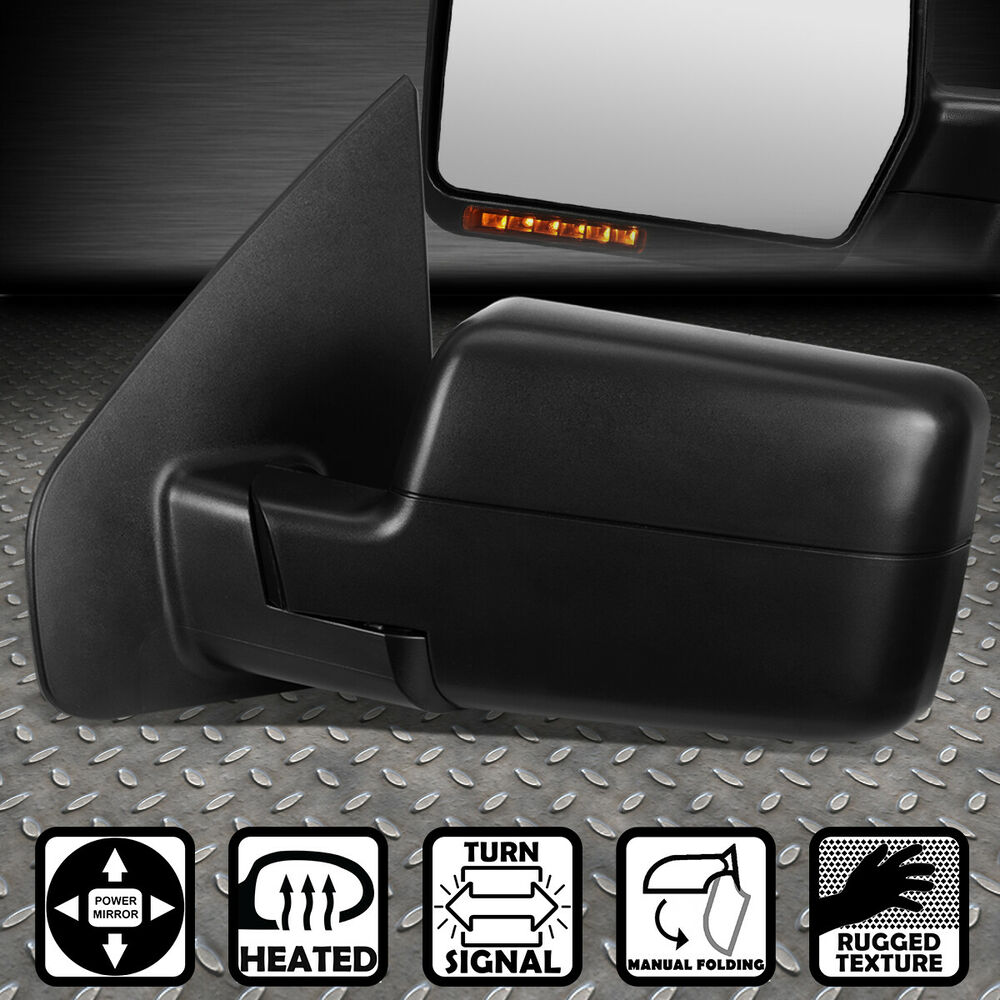 Power Heated Led Signal Rear View Replacement Side Mirror