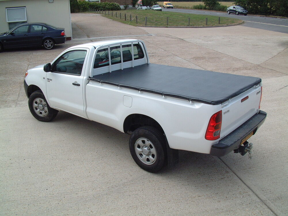 Toyota Hilux 1998-2005 Single Cab Tonneau Cover, Load Area ...
