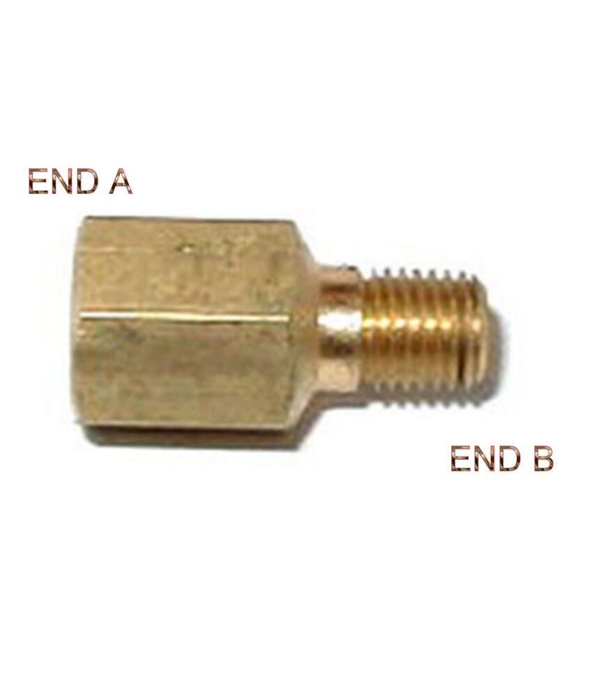 Female bspt to male npt coupling brass pipe