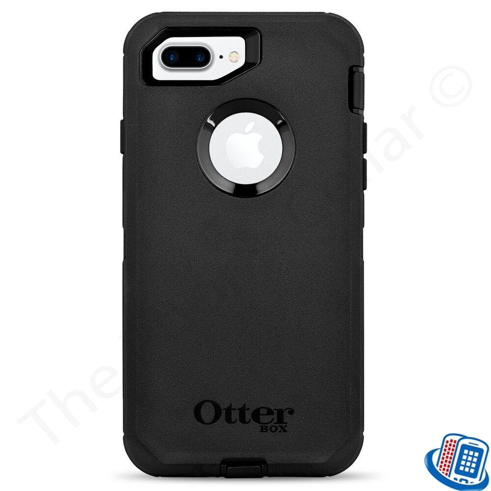 oem otterbox defender series black case for apple iphone 7. Black Bedroom Furniture Sets. Home Design Ideas