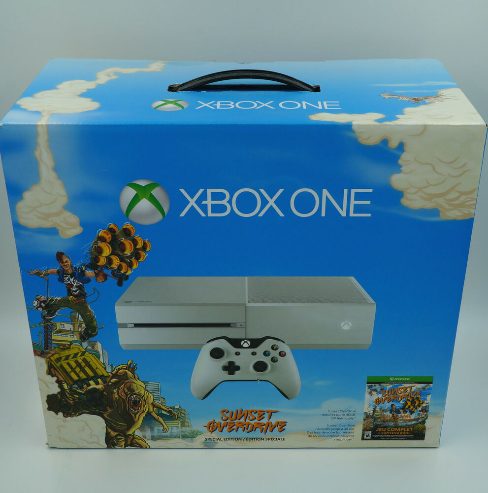 Microsoft Xbox One 500gb Console Sunset Overdrive Special
