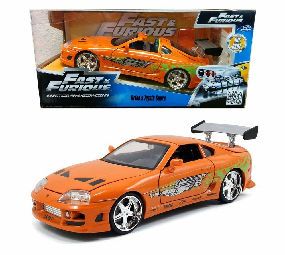 Jada Toys Fast And Furious 7 1:24 BRIAN'S 1996 TOYOTA