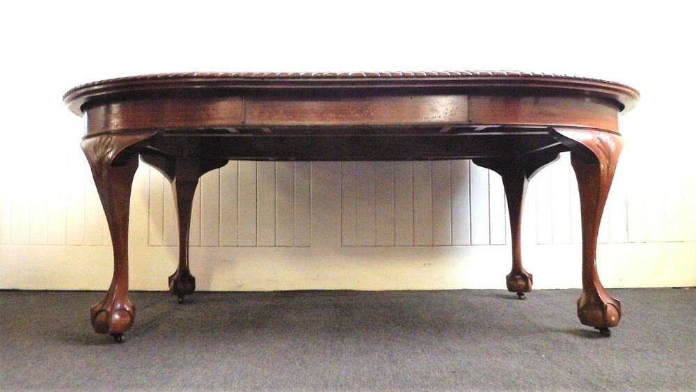 Antique chippendale style carved kitchen dining table  : s l1000 from www.ebay.co.uk size 1000 x 563 jpeg 68kB