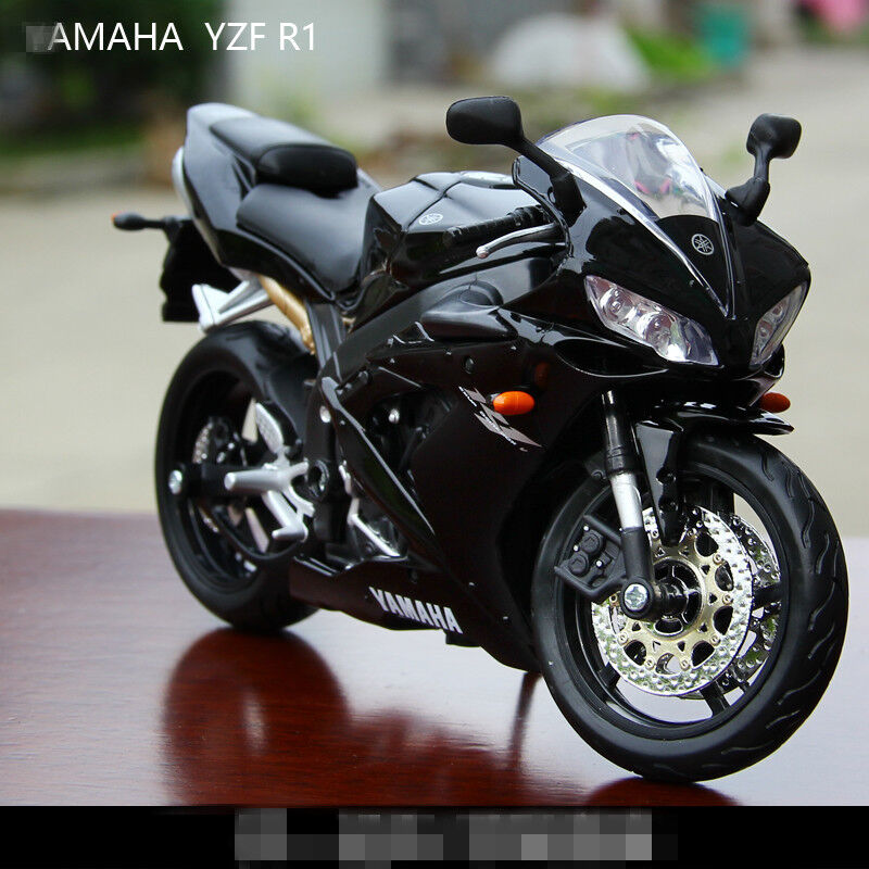 collection 1 12 maisto yamaha yzf r1 racing moto diecast motorcycles model toy ebay. Black Bedroom Furniture Sets. Home Design Ideas