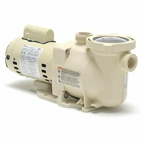 Pentair 340038 superflo 1 hp in ground swimming pool pump for Pentair pool pump motor