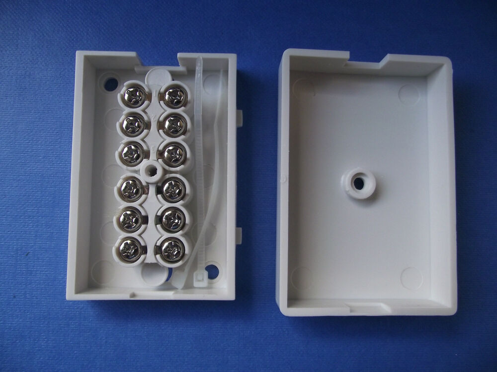 6 Terminal Telephone Or Alarm System And Models Connector