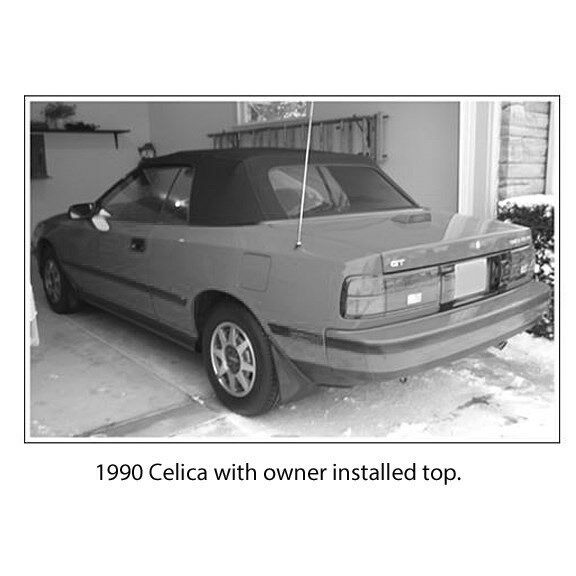 Toyota Celica Gt St 1994 1995 Forward: TOYOTA CELICA DO-IT-YOURSELF CONVERTIBLE TOP PACKAGE 1987