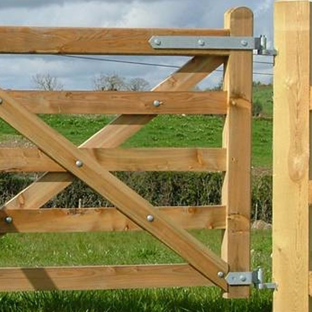 Heavy duty wood gate hinges - Heavy Duty Part Fully Adjustable Field Gate Hinges Galvanised Fence Farm