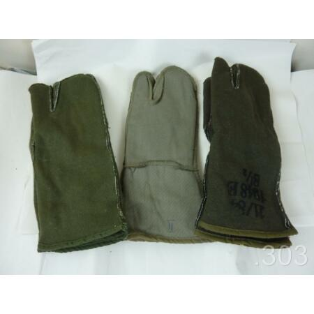 img-Military Army Fleece Gloves / Mittens Liners with Trigger Finger