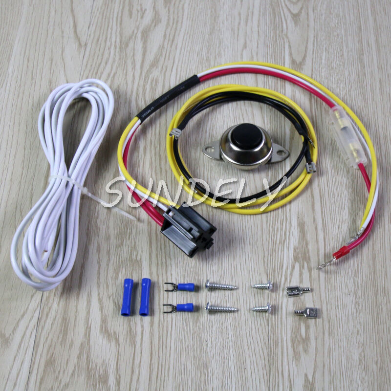 universal car horn installation wire kit w button relay. Black Bedroom Furniture Sets. Home Design Ideas