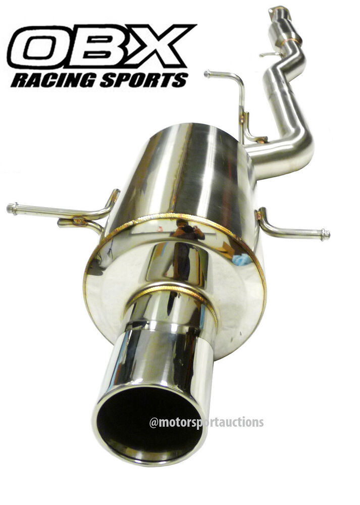 Subaru Forester Cat Back Exhaust System