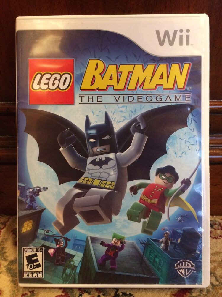 Lego batman: the videogame wii game instruction manual included.