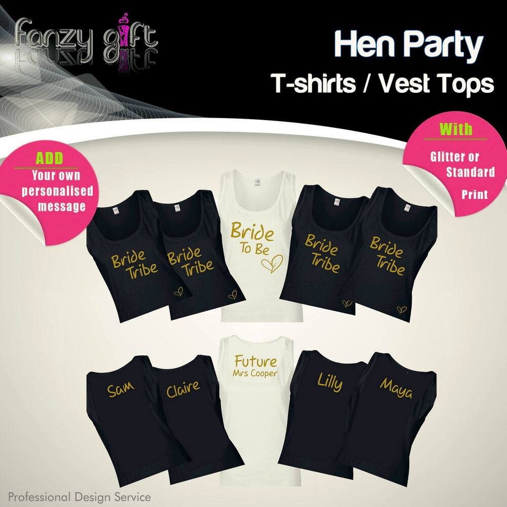 Design your own t-shirt for hen parties