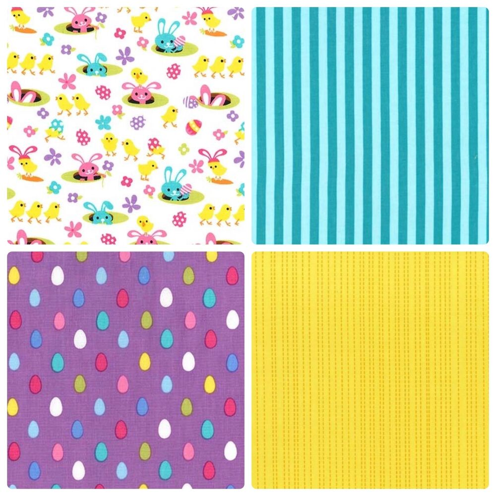 Michael miller spring meadow craft fabric easter
