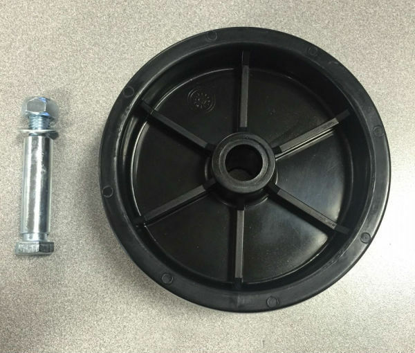 Replacement Caster Wheel For Marine Style Trailer Tongue