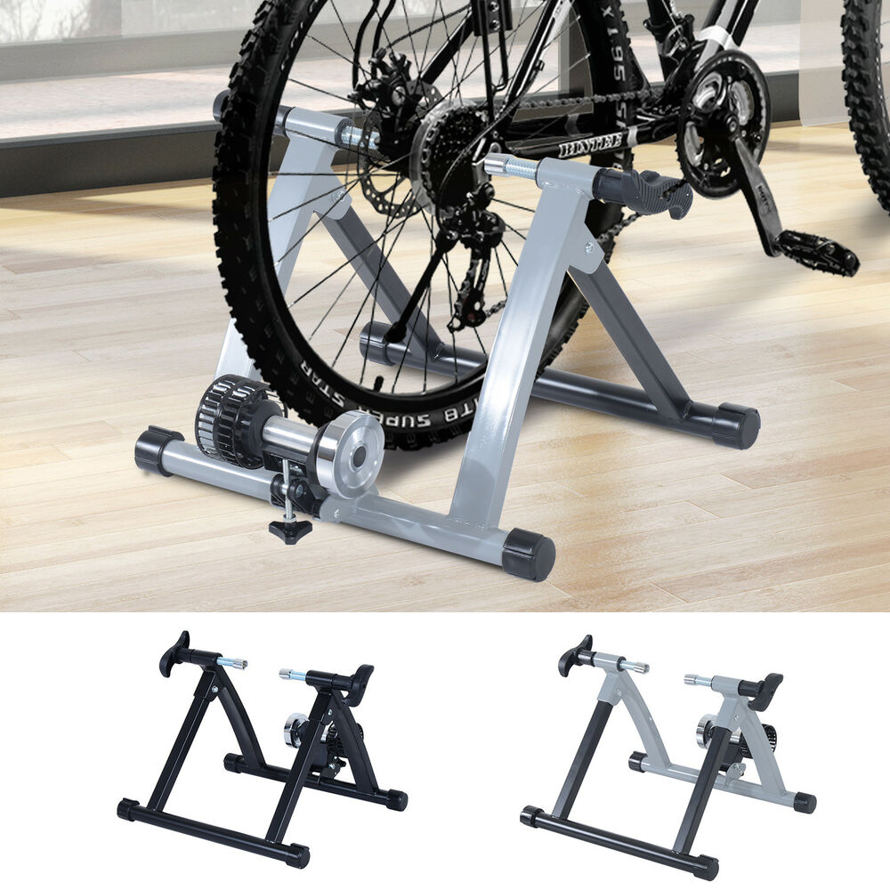 homcom rollentrainer fahrrad luft heimtrainer rolle. Black Bedroom Furniture Sets. Home Design Ideas