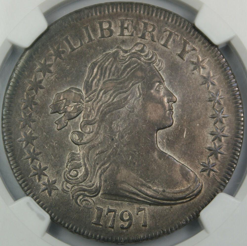 1797 Draped Bust Silver Dollar 1 Ngc Xf 45 High End