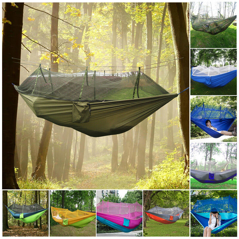 Tent Hammock For Two : Double person travel outdoor camping tent hanging hammock