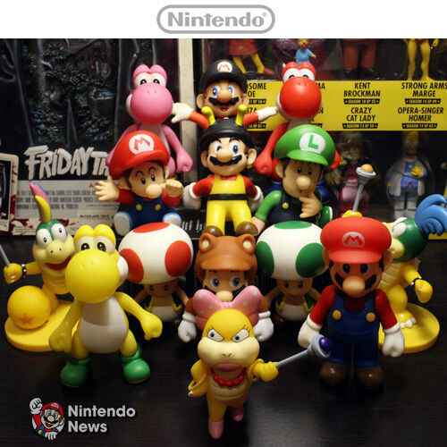 Toys For Brothers : Quot nintendo super mario bros brothers luigi toy pvc action