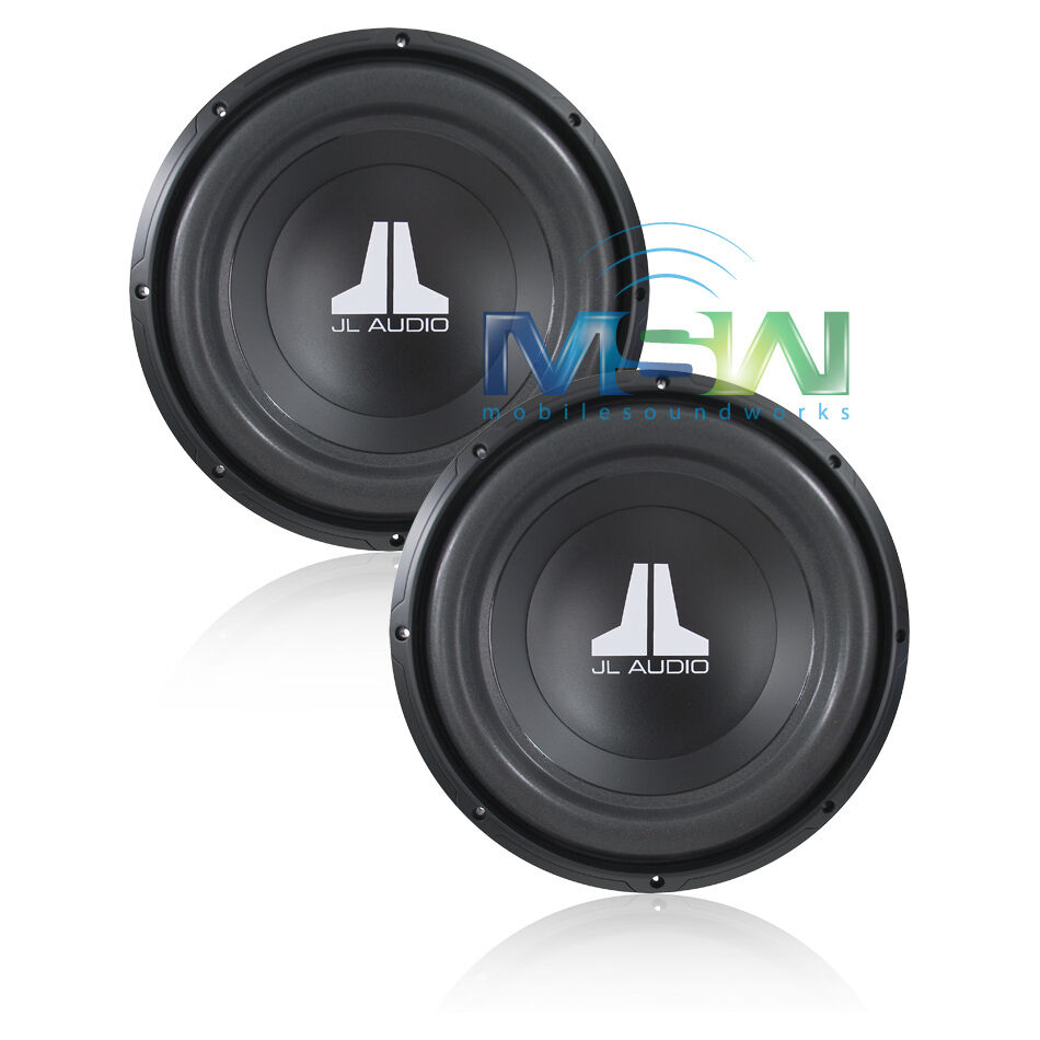 2 jl audio 12w0v3 4 12 w0v3 4 ohm subs subwoofers sub. Black Bedroom Furniture Sets. Home Design Ideas