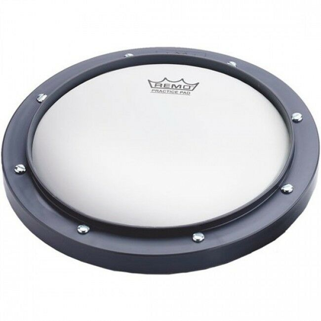 remo 10 grey tunable drum practice pad model rt001000 ebay. Black Bedroom Furniture Sets. Home Design Ideas