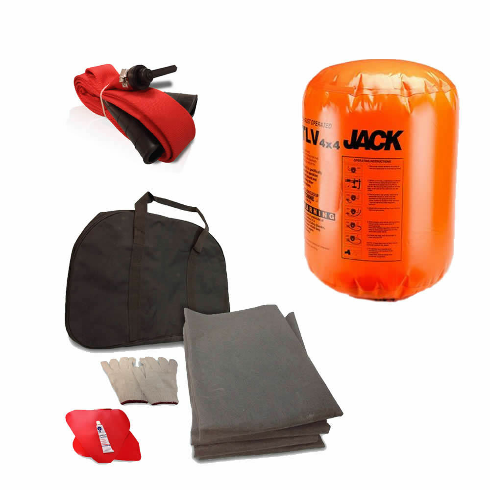 Noryb 4t Ton Tonne Exhaust Jack Lifting Air Bag Kit Car