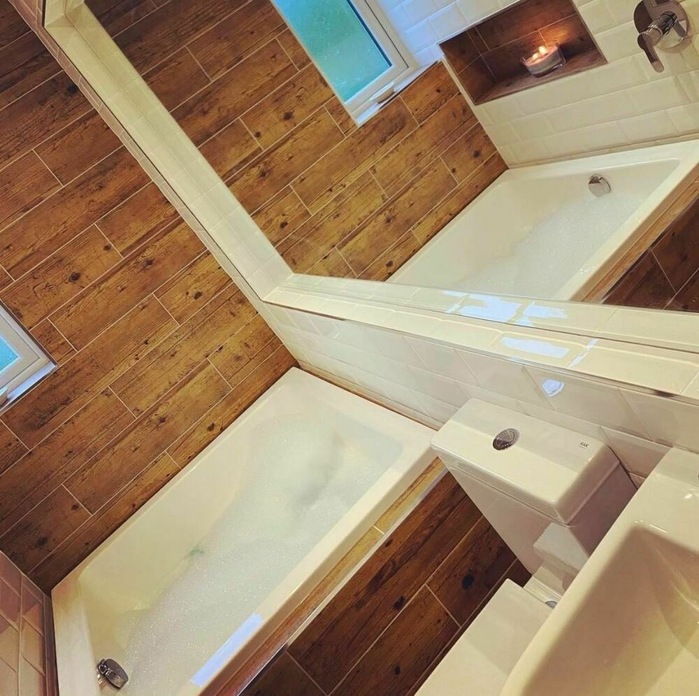 Omnitub duo deep soaking bath ebay for Square baths