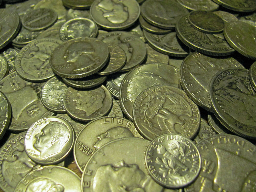 United States 90 Silver Coins One Standard Ounce Of Old