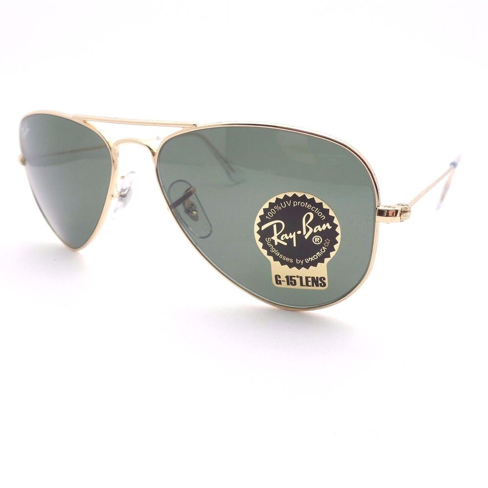 24d8228795f99e Details about Ray Ban 3044 New Small Aviator Gold L0207 52mm Petite  Authentic Sunglasses