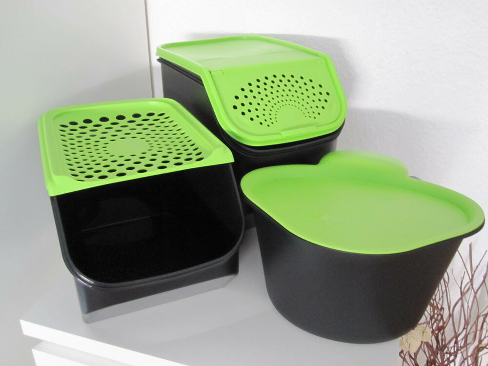 tupperware kartoffel zwiebel lager adretto neu ebay. Black Bedroom Furniture Sets. Home Design Ideas