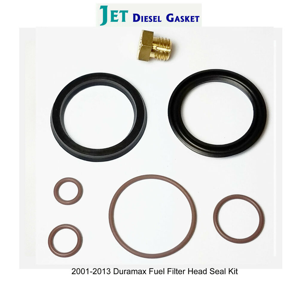 DURAMAX FUEL FILTER HEAD REBUILD SEAL KIT WITH VITON O
