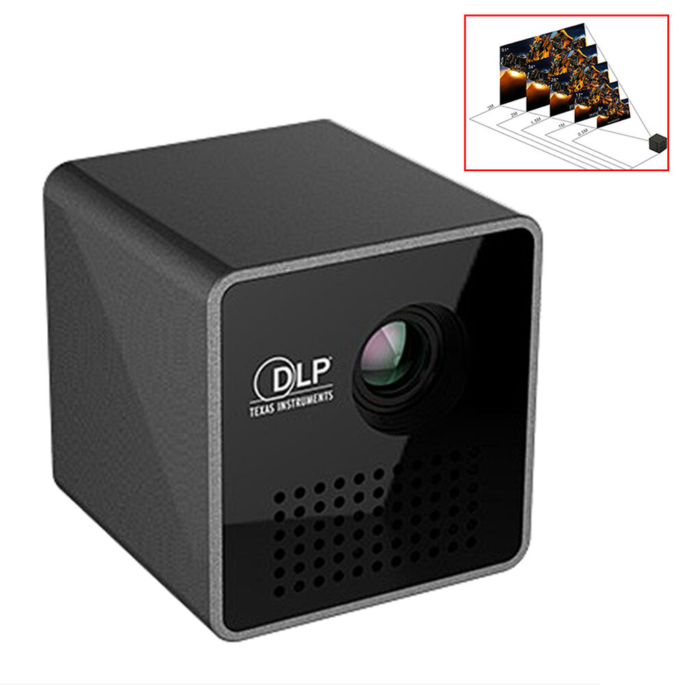 protable micro smart beam black mini pico laser projector wiff usb 640 360 ebay. Black Bedroom Furniture Sets. Home Design Ideas