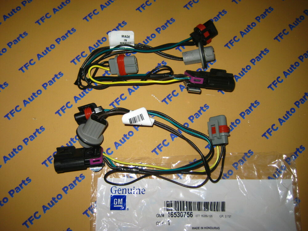 Wiring Harness For 04 Grand Prix : Pontiac grand prix front head light wiring harness oem