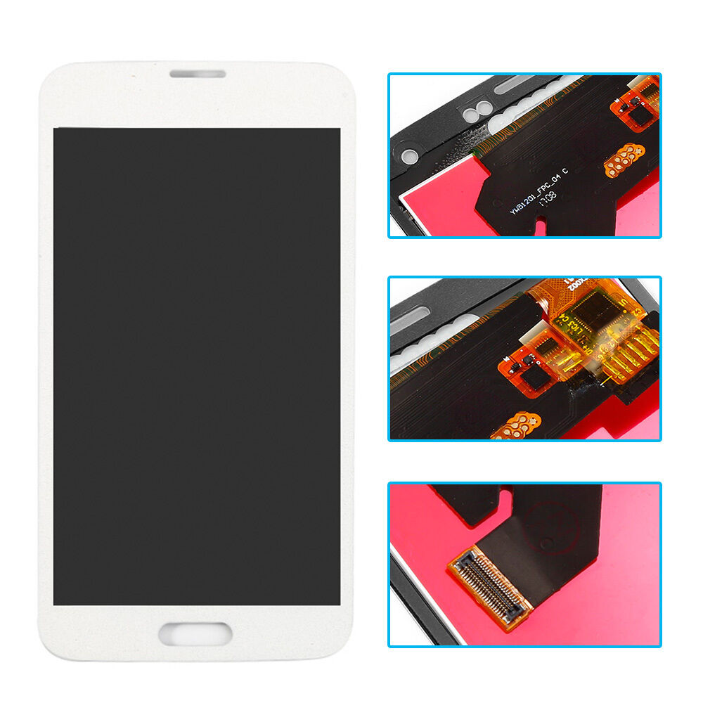 pour samsung galaxy s5 i9600 g900f g900t lcd blanc cran tactile num riseur neuf ebay. Black Bedroom Furniture Sets. Home Design Ideas