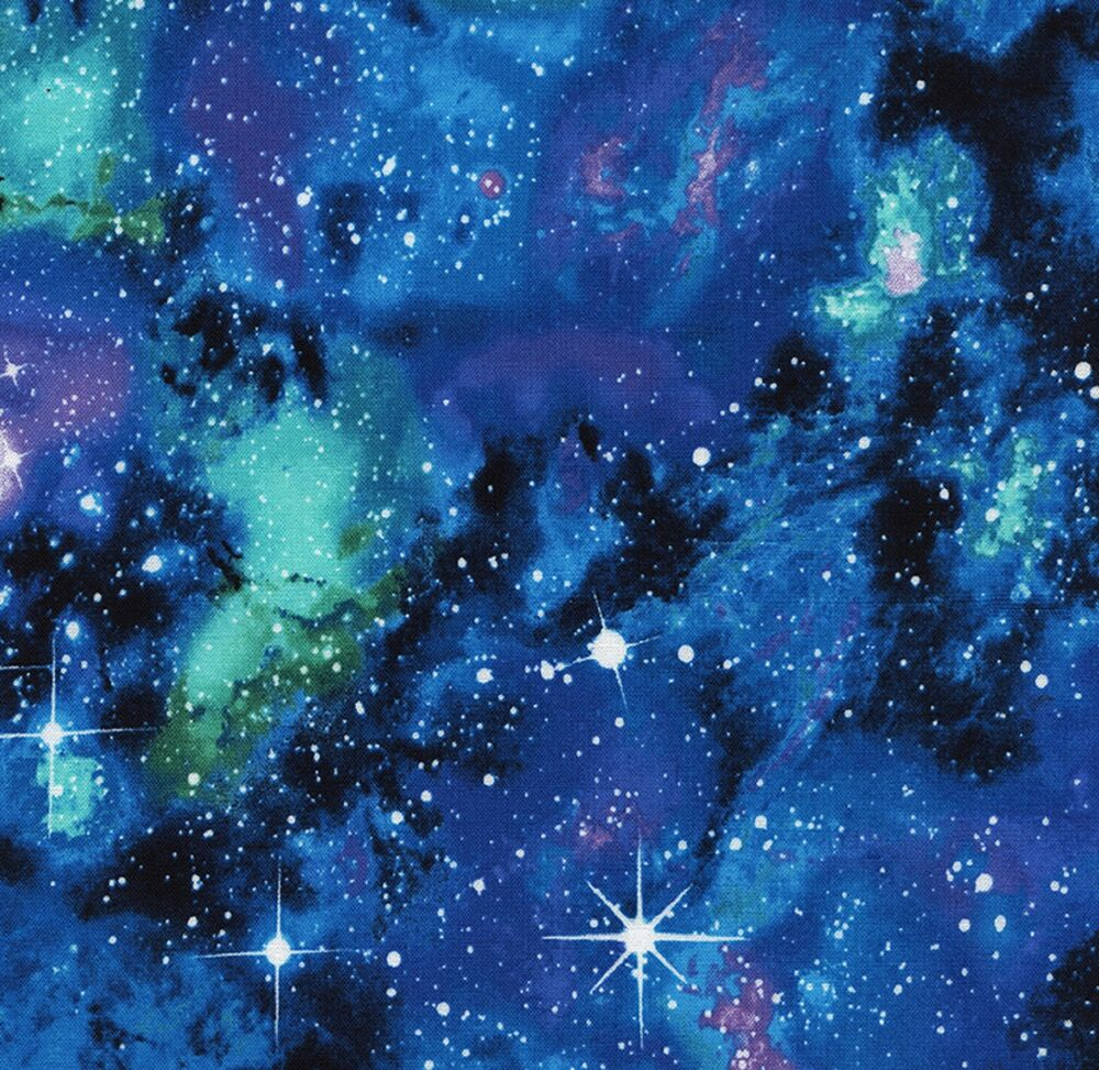 Galaxy space jersey knit fabric 1 2 mtr children for Children s jersey fabric