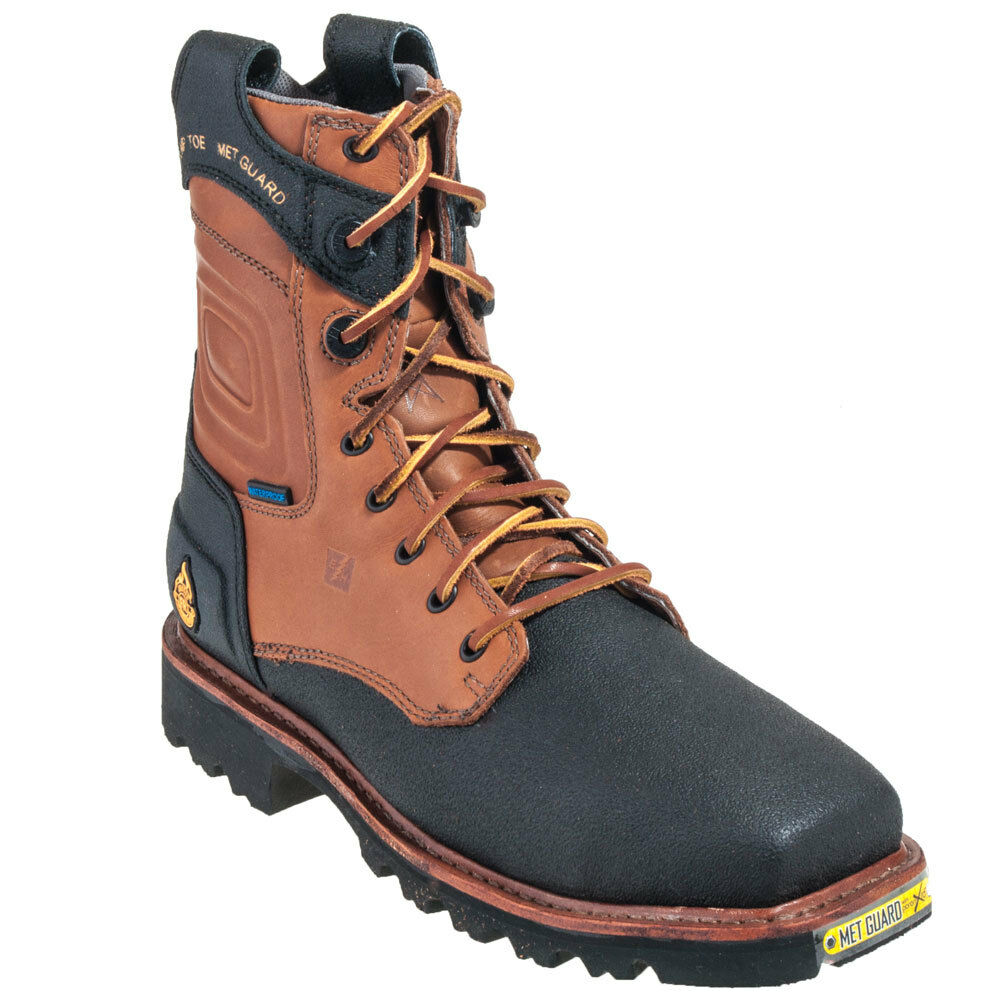 Justin Wk511 Composite Toe Fr 8 Quot Lace Up Work Boot Ebay