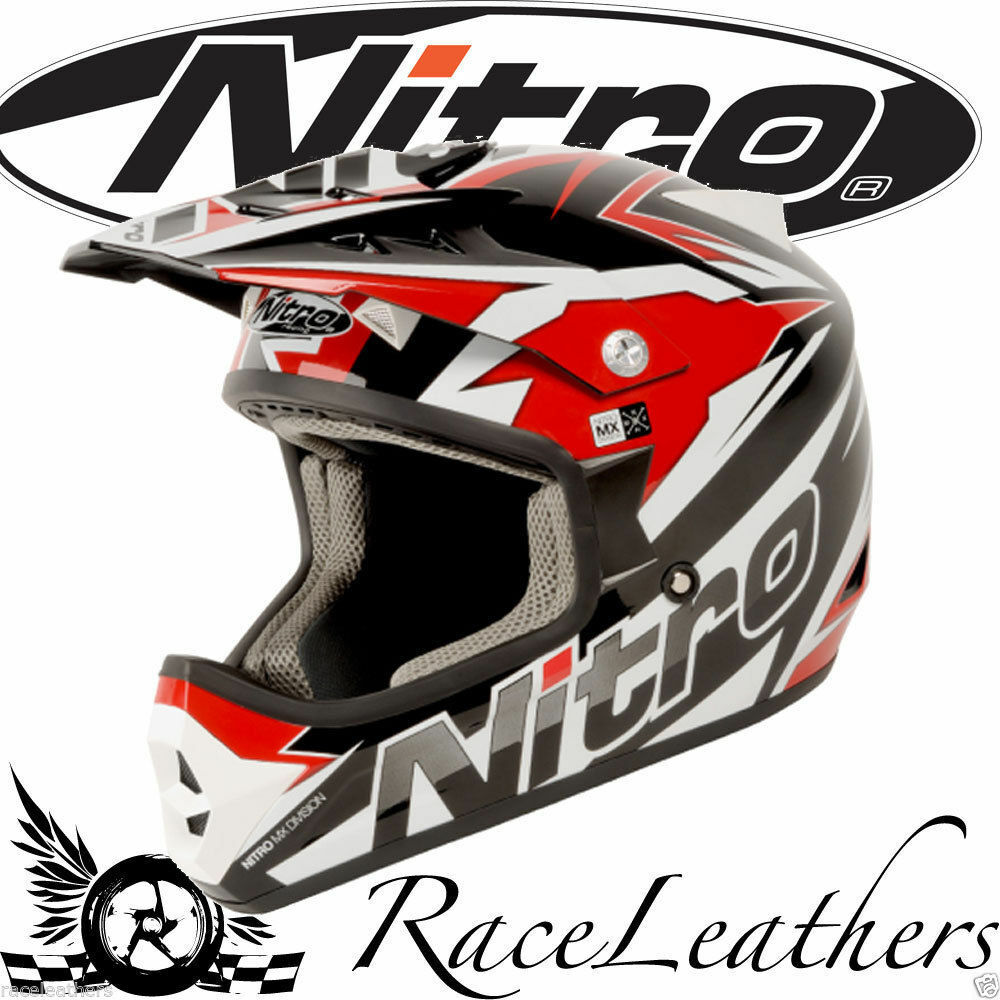 nitro shard rot wei schwarz motocross mx moto x motorrad. Black Bedroom Furniture Sets. Home Design Ideas