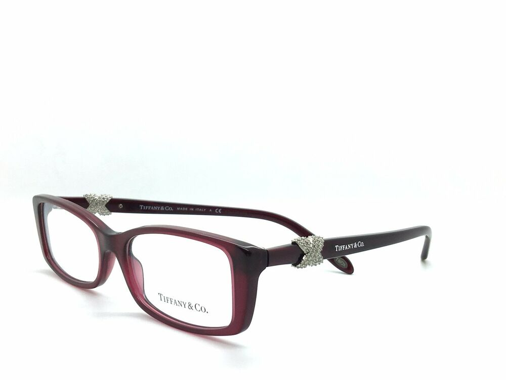 Eyeglass Frame Size 51 : *NEW * TIFFANY & CO. LOVE KNOT TF2110B 8003 RED EYEGLASS ...