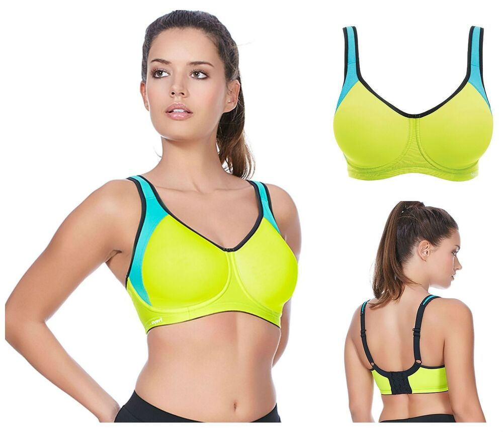 Freya Active Sonic Underwired Moulded Sports Bra 4892 Lime ba9726d546f
