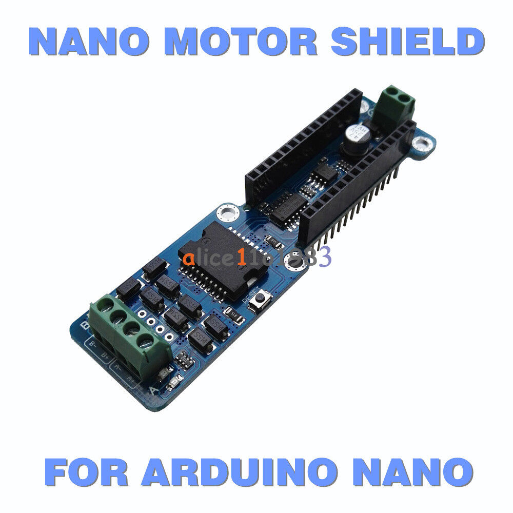 L298p 2a Dual Channel Dc Stepper Motor Driver Shield Module For Wiring Arduino Nano 30 Ebay