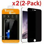 """Privacy Anti-Spy Tempered Glass Screen Protector Shield for 5.5"""" iPhone 7 Plus"""
