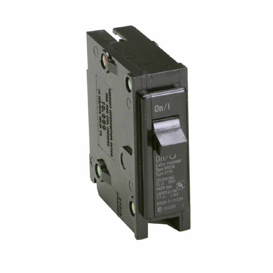 home circuit breaker fuse box breaker fuse box repair parts eaton 35 amp single-pole fuse-box trip bryant br circuit ...