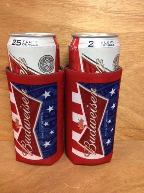 Tall Can Cooler ~ Budweiser king of beers beer koozie oz tall can cooler