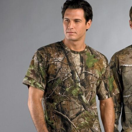 img-CAMOUFLAGE REALTREE T-SHIRT UNISEX MILITARY ARMY COMBAT SAS WOODLAND TOP QUALITY