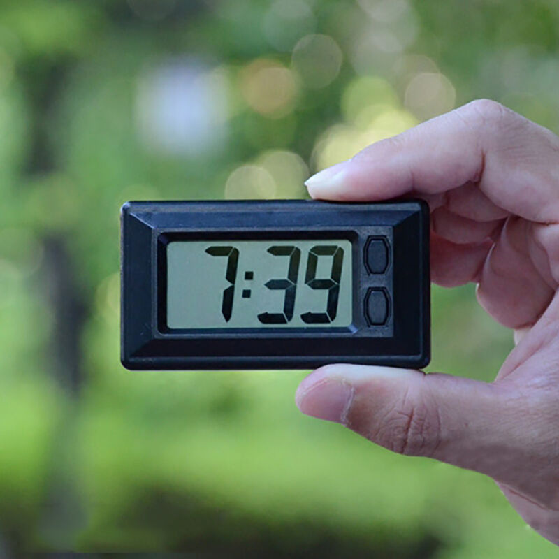 Time And Date Lcd Digital Display Clock With Calendar For