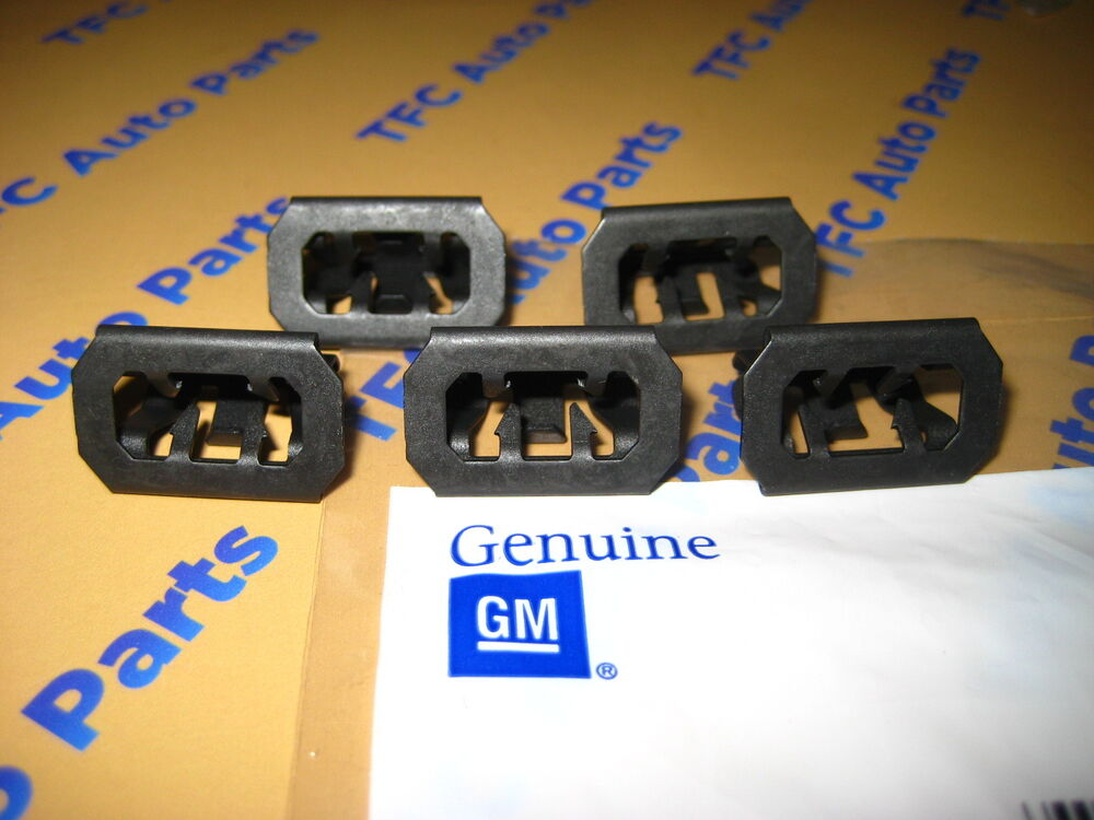 5 Chevy GMC Front Grille Retainer Clip OEM Genuine GM Set ...